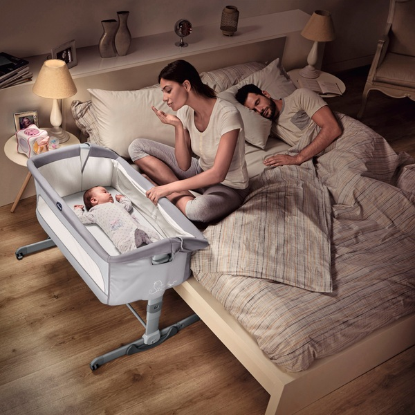 Chicco Next 2 Me Dream Graphite Side Sleeping Crib