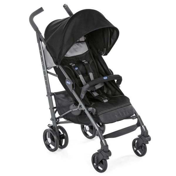 05974e61d52 Chicco Liteway 3 Stroller Jet Black - Strollers UK