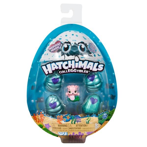 Hatchimals CollEGGtibles 4 Pack Plus Bonus - Season 5 Mermal Magic Assortment