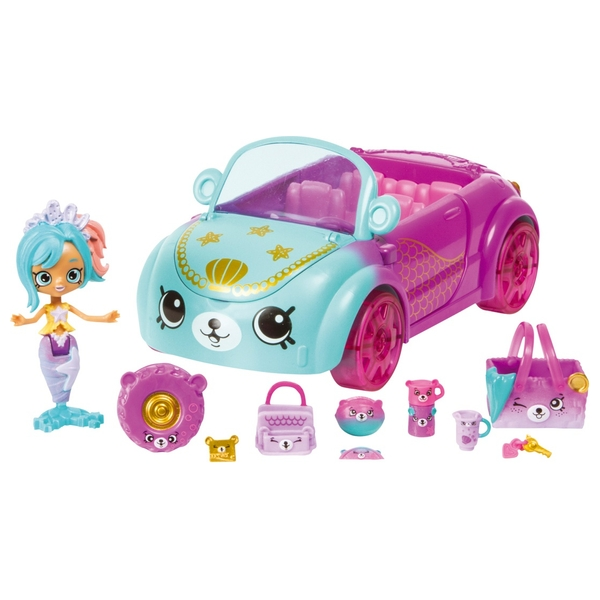 Shopkins Happy Places Mermaid Tails Coral Cruiser
