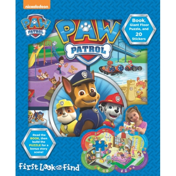 My First PAW Patrol Look and Find Book & Puzzle