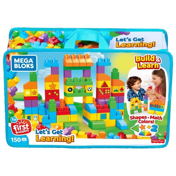 Mega Bloks  Let's Get Learning Bag