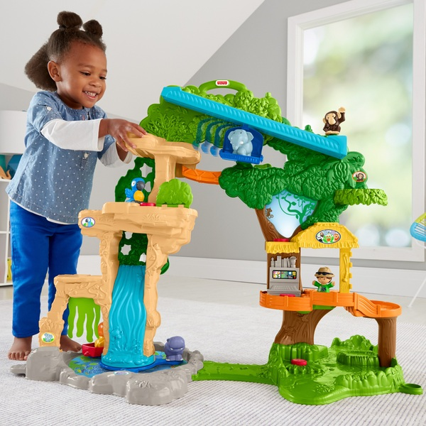 Fisher-Price Little People Share & Care Safari Playset
