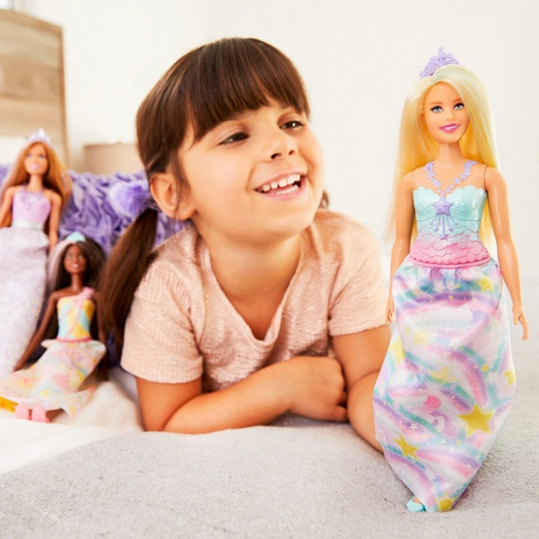 Barbie Dreamtopia Princess Doll with Rainbow Outfit