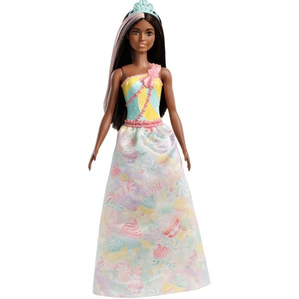 Barbie Dreamtopia Princess Doll Pink and Dark Hair