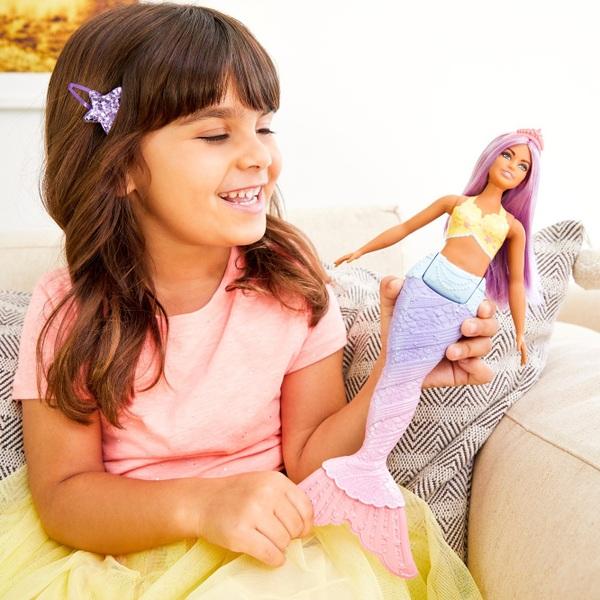 Barbie Dreamtopia Mermaid Doll Purple Hair