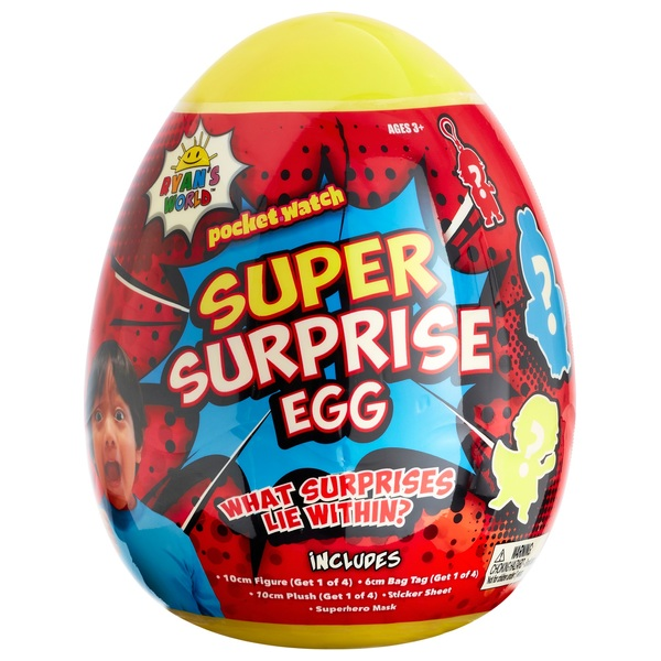Ryan's World Medium Super Surprise Egg Assortment