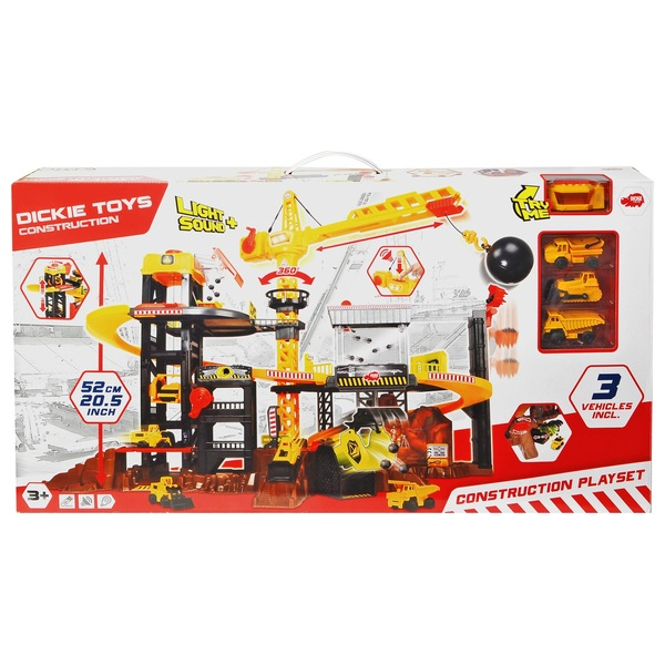 Lights and Sounds Construction Playset
