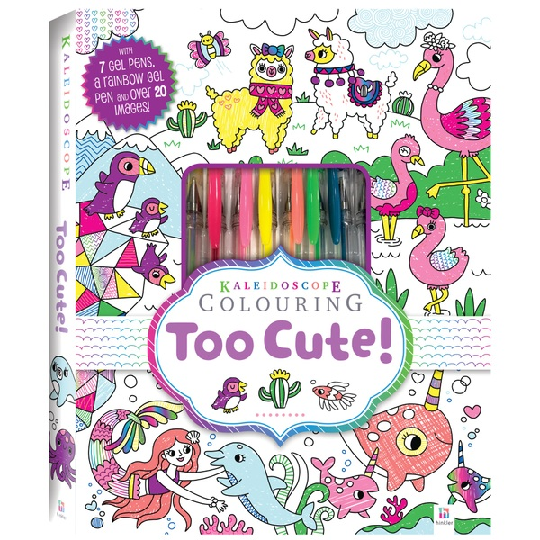 Kaleidoscope Colouring Kit: Too Cute Colouring
