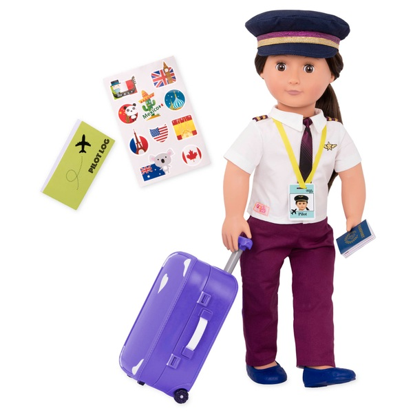 Our Generation Kaihily Professional Pilot Doll