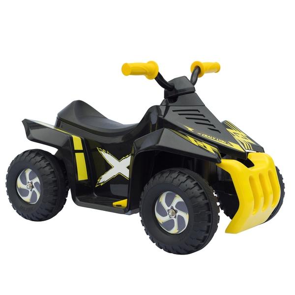 Mini ATV 6V - Black & Yellow Electric Ride On