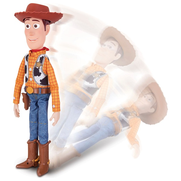 Sheriff Woody with Interactive Drop-Down Action 30cm Figure Toy Story 4