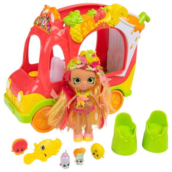 Shopkins Shoppies Smoothie Truck Combo
