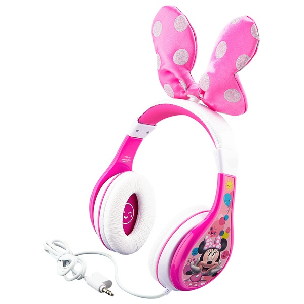 Minnie Mouse Headphones With Bow