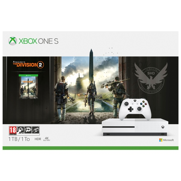 Xbox One S 1TB Tom Clancy's The Division 2 Bundle