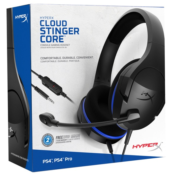 HyperX Cloud Stinger Core Gaming Headset for PS4 - Gaming Headsets Ireland