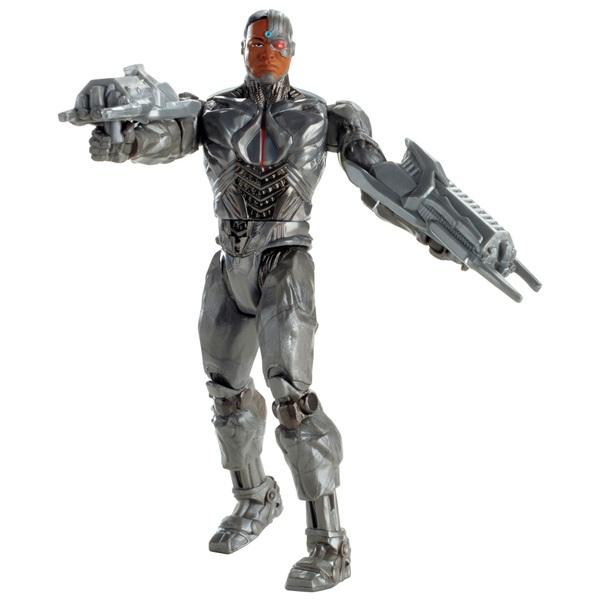 Justice League Movie Cyborg Figure