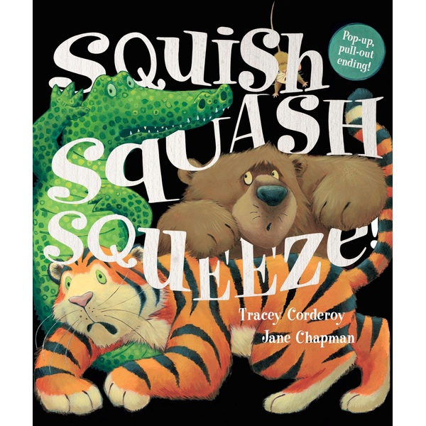 Squish Squash Squeeze! Paperback book by Tracey Corderoy and Jane Chapman