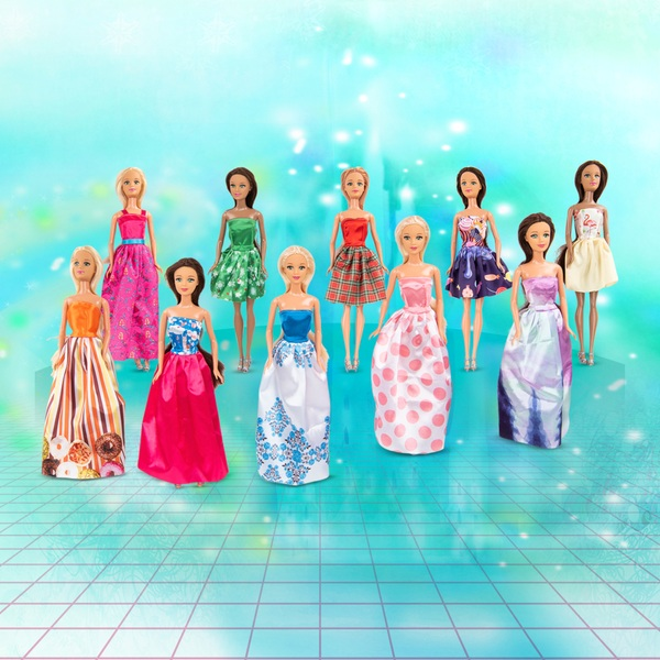 Fashion Dolls 10 Pack