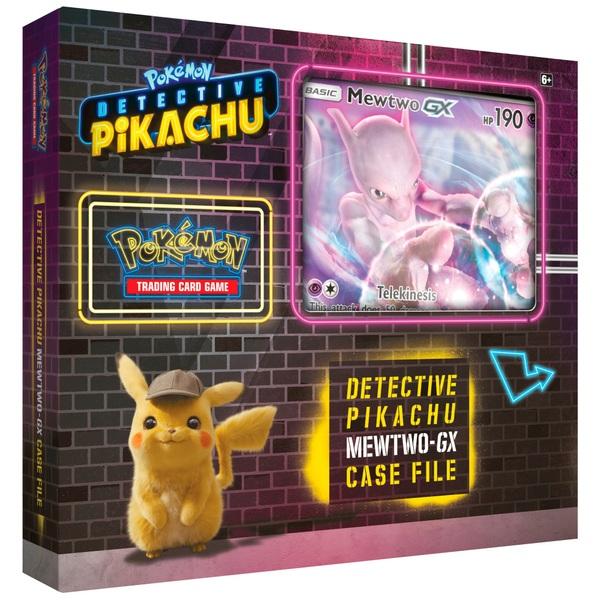 Pokémon Trading Card Game: Detective Pikachu - Mewtwo-GX Case File