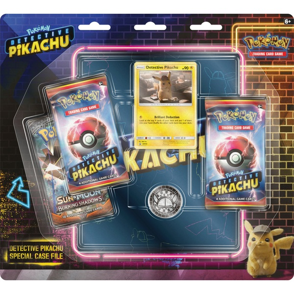 Detective Pikachu Special Case File Pok 233 Mon Trading Card