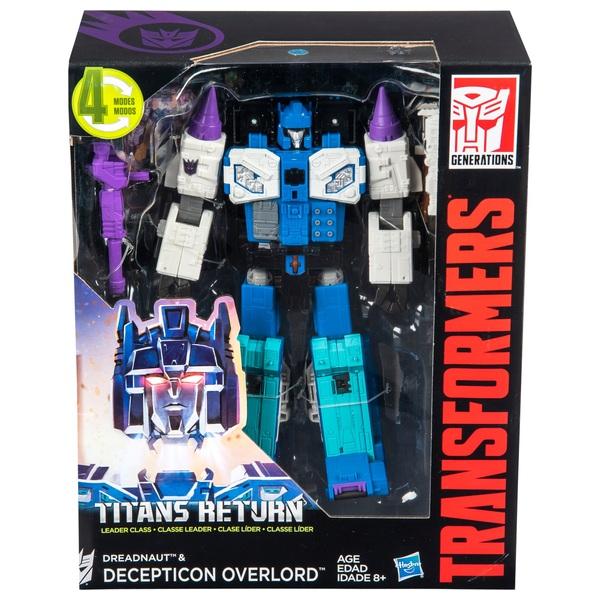 Transformers Titan Return Decepticon OverLoad
