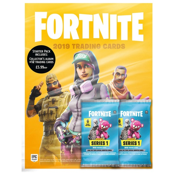 Fortnite Trading Card Collection Starter