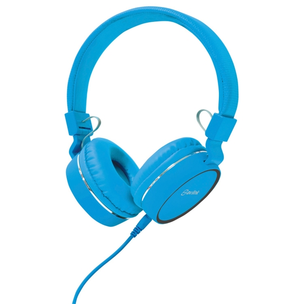 AV Link Headphone with Microphone Blue