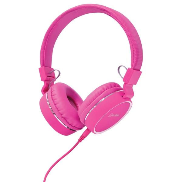 AV Link Headphone with Microphone Pink