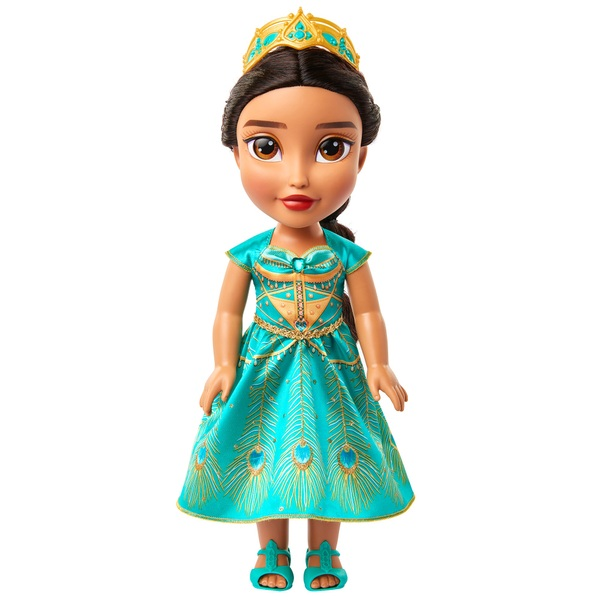 Disney Aladdin Jasmine Toddler Doll Teal