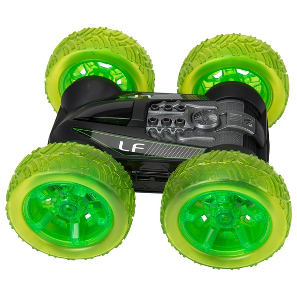 Radio Control Light Up Stunt Flipper Vehicle