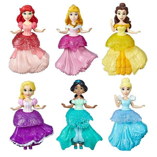 Disney Princess Royal Clip 6 Pack