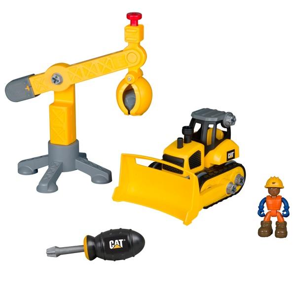 CAT' Machine Maker Junior Operator Work Site set Assortment