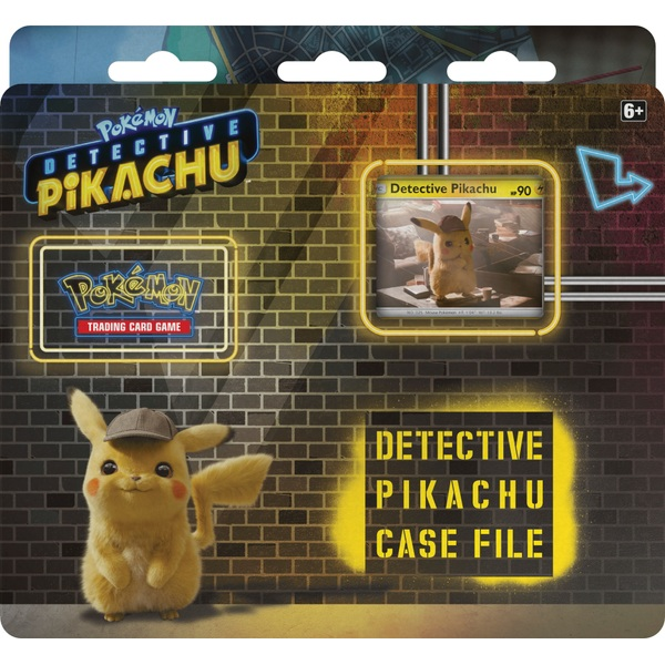 Pókemon Trading Card Game Detetive Pikachu Case File