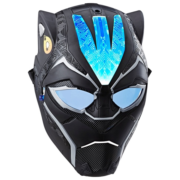 Marvel Avengers: Endgame Black Panther Vibranium Power FX Mask