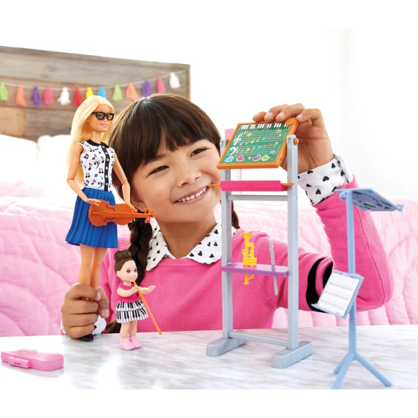 Barbie Career Teacher Doll Music Playset