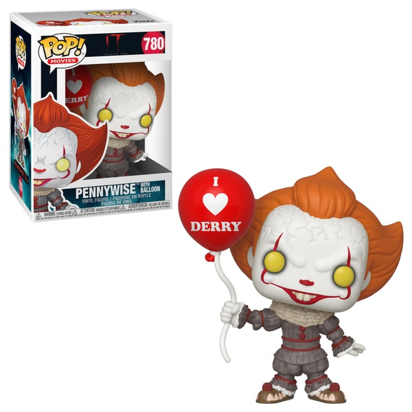 POP! Vinyl: IT Chapter Two Pennywise with Balloon