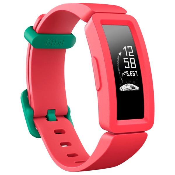 Fitbit Ace 2 Activity Tracker For Kids 6+ - Watermelon With Teal