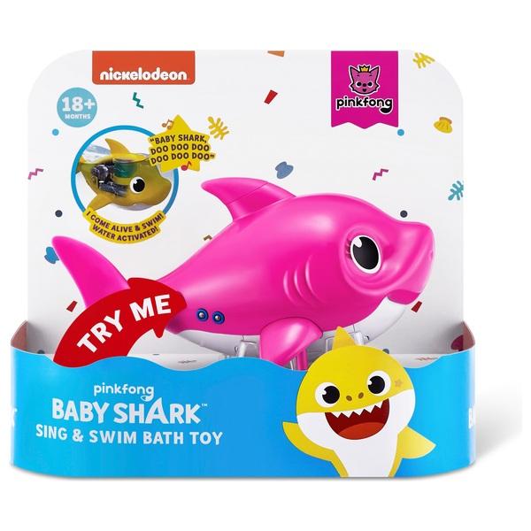 Baby Shark Sing & Swim Bath Toy - Mommy