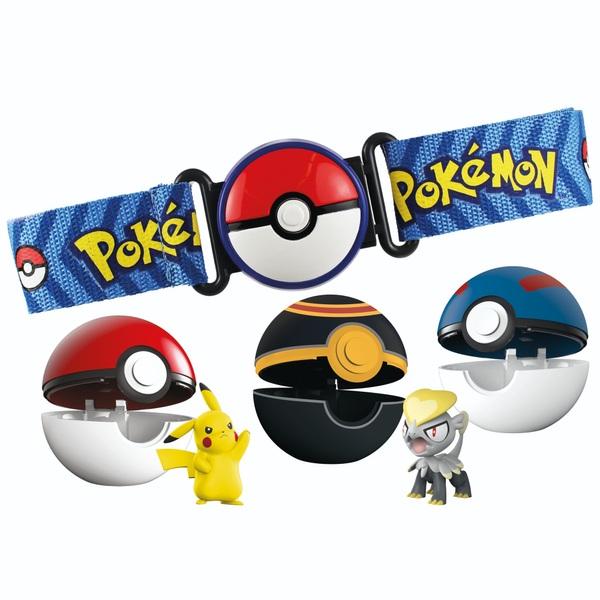 Pokémon Clip 'N' Go Belt Bonus Set With Extra Ball