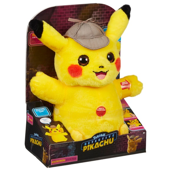 Pokémon 32cm Detective Pikachu Feature Plush