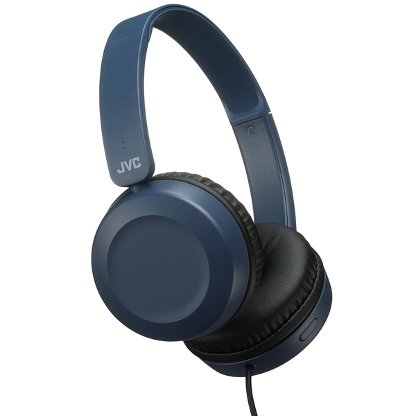 JVC Headphone Slate Blue with Mic
