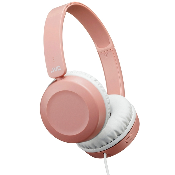 JVC Headphone Dusty Pink with Mic