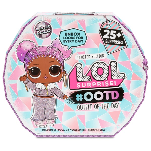 L.O.L. Surprise! Outfit of the Day Winter Disco 25+ Surprises