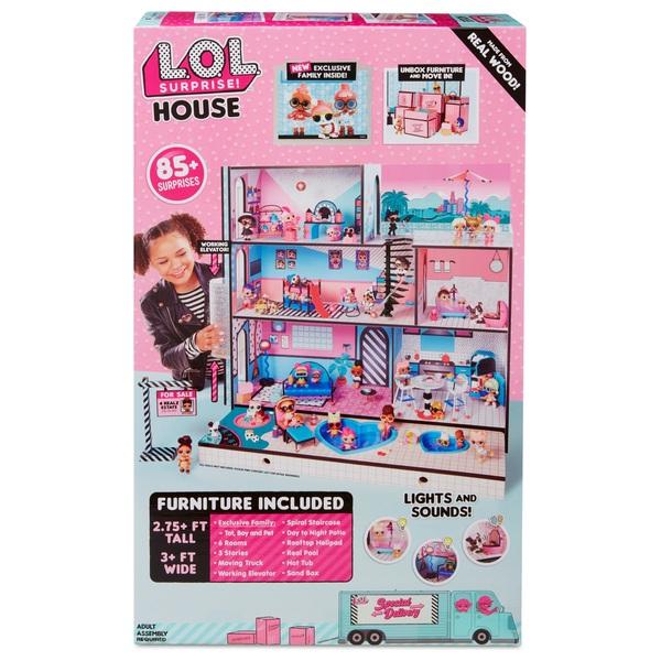 L O L Surprise Surprise House Including 85 Surprises Smyths Toys