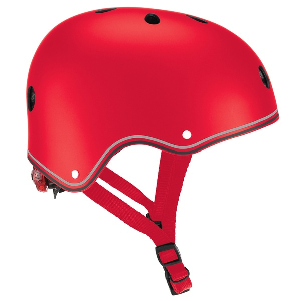 Globber PRIMO HELMET Red with Lights