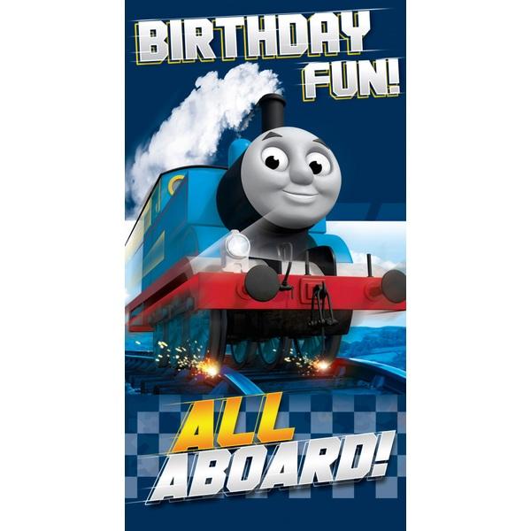 Thomas The Tank Engine Birthday Card No Age