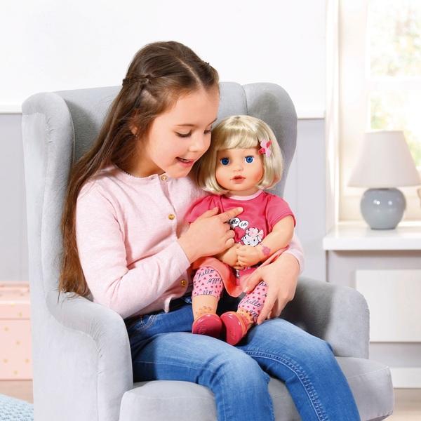 Baby Annabell Talk Back Julia 43cm Doll