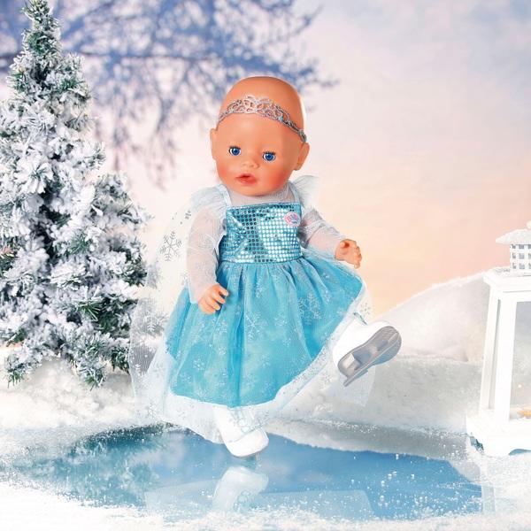 Baby born Princess on Ice Set