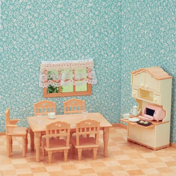Sylvanian Families  - Dining Room Set
